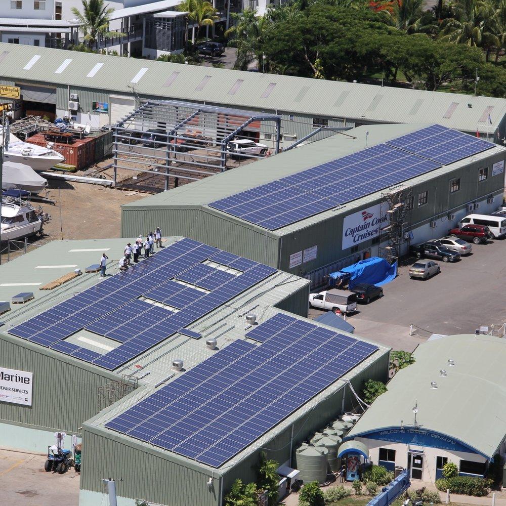 Port Denarau Marina solar