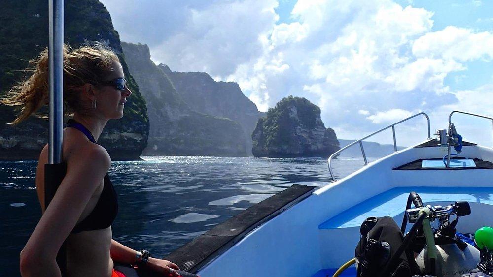 Blue Corner Dive - Nusa Penida - PADI Dive Centre