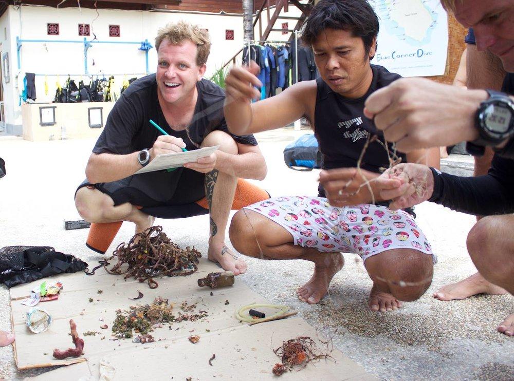 Counting Reef Debris