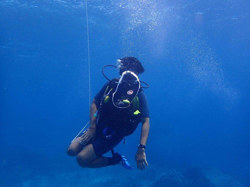 PADI Scuba diving Edi
