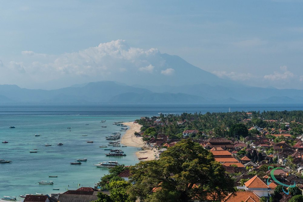 Panorama View of Nusa Lembongan