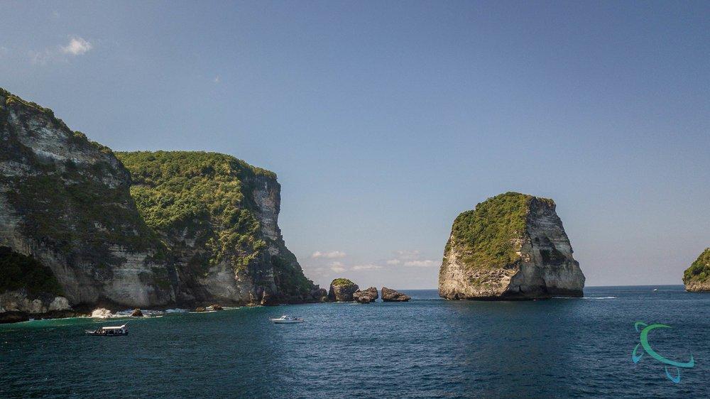 Manta Point, Nusa Penida, PADI Diving with Mantas