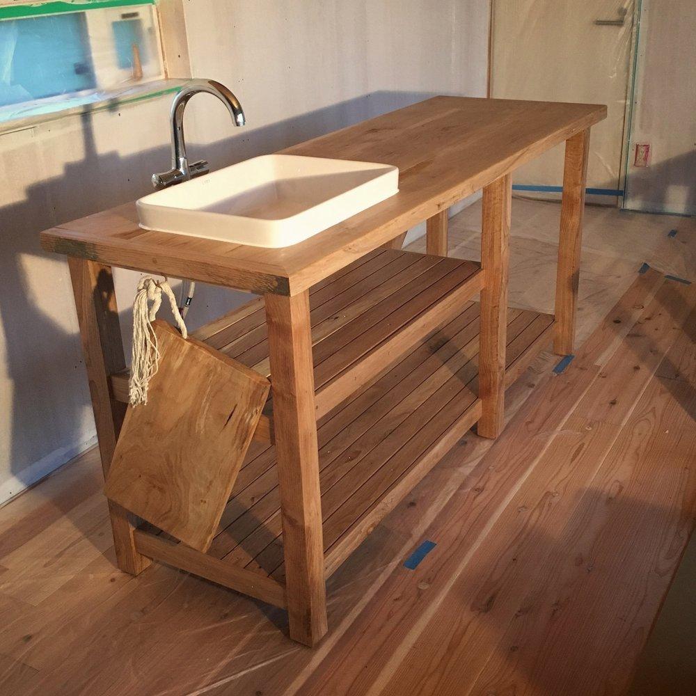 Takumi Woodwork - Oak Kitchen Unit