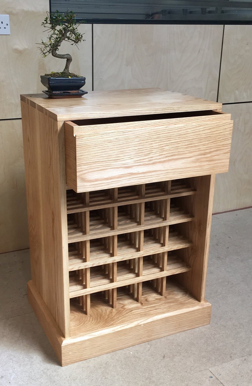 Takumi Woodwork - Oak Wine Rack