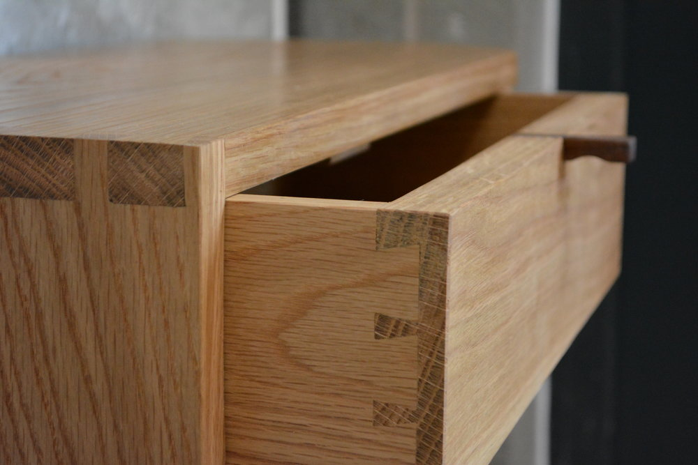 Takumi Woodwork - Oak Console Unit