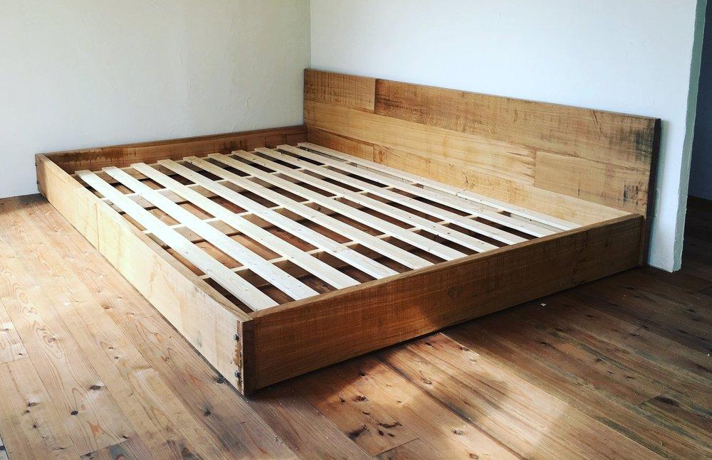 Takumi Woodwork - Oak Bedframe