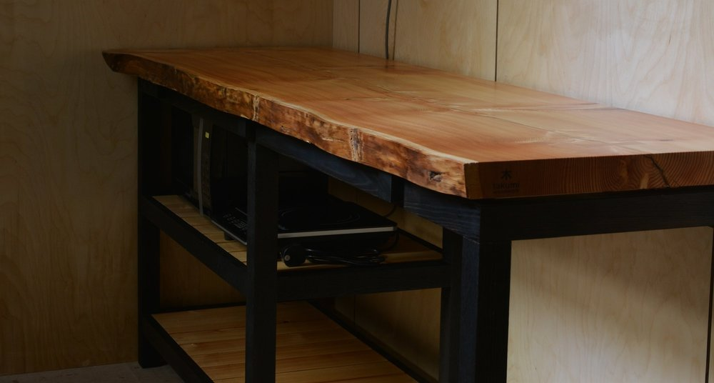 Takumi Woodwork - Larch Kitchen Unit