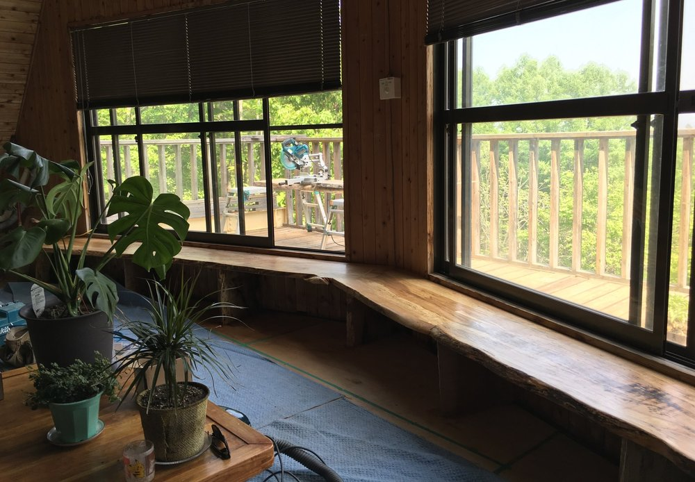 Takumi Woodwork - Beech Window Seat