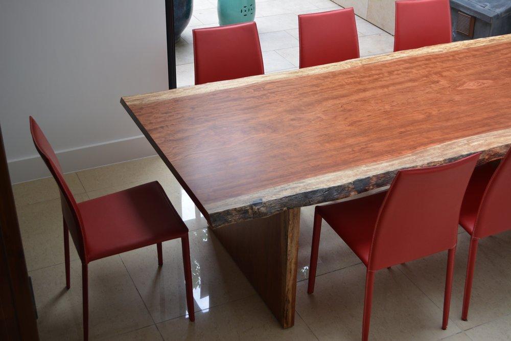 Takumi Woodwork - Bubinga Dining Table