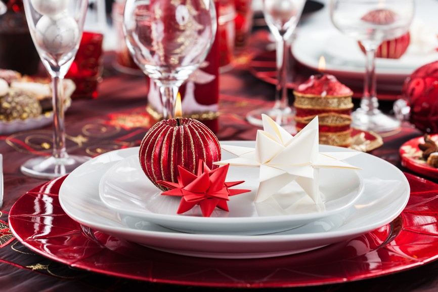 Interesting Black And Gold Christmas Table Settings Contemporary & Amusing Red And Gold Christmas Table Settings Pictures - Best Image ...