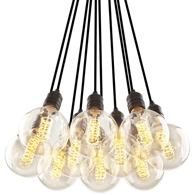 Eichholtz Hanging bulb lights by  Oroa