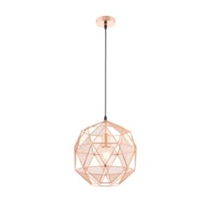 Hex Copper Industrial Pendant (Lightsupplier.co.uk)