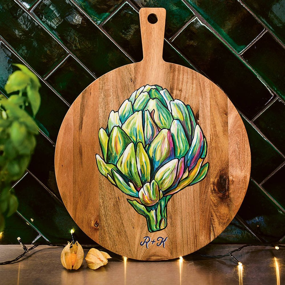 Artichoke Design Board by Alex Ebdon