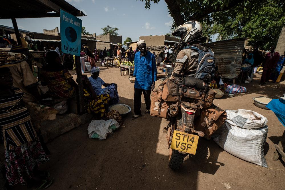 Somewhere off the beaten track in Burkina Faso