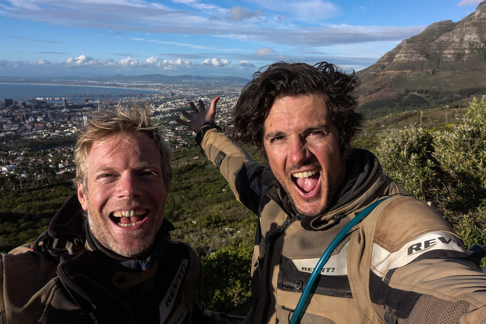 Mission complete. Table Mountain overlooking Cape Town.