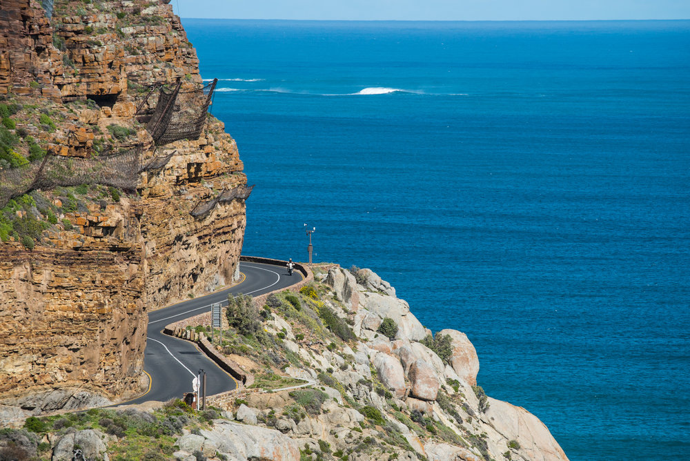 Chapman's Peak. One of the best drives anywhere in the world.