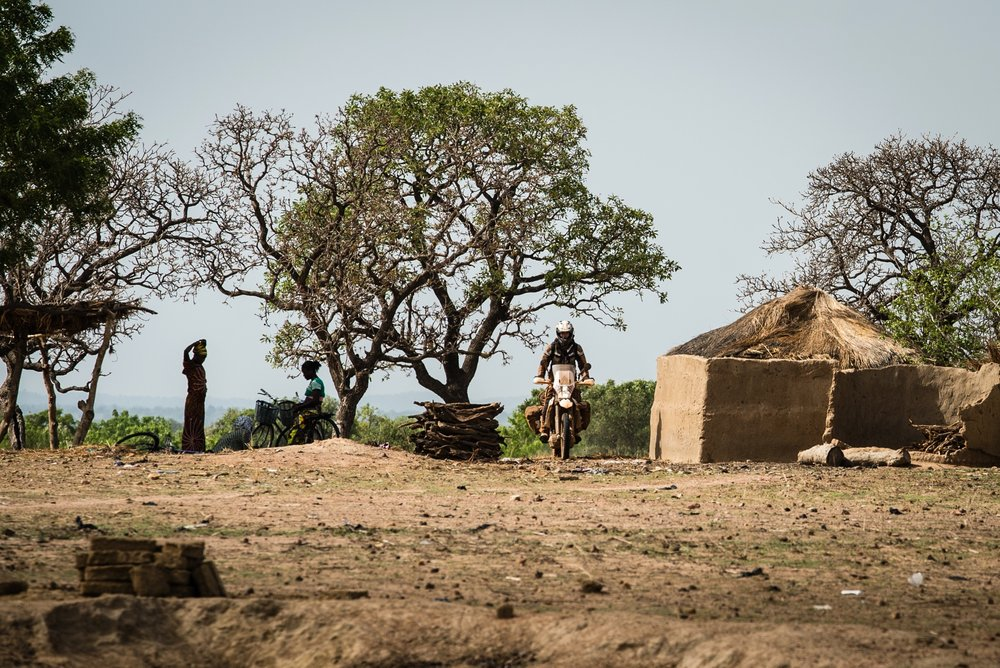 """""""Not all those who wander are lost.""""- J. R. R. Tolkein. Burkina Faso"""