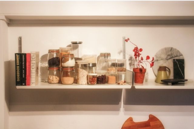 How to organise kitchen cupboards with the KonMari method.