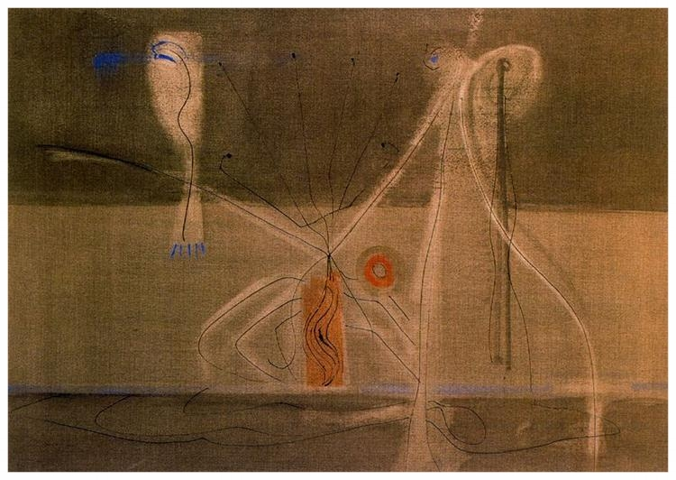 Tentacles of Memory- Mark Rothko 1946
