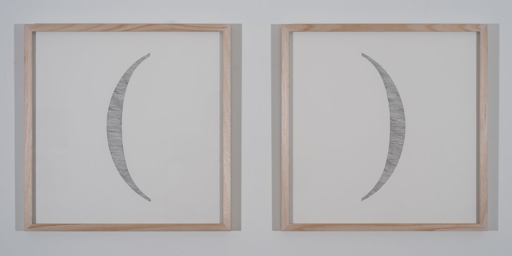 Parenthetic (Diptych)