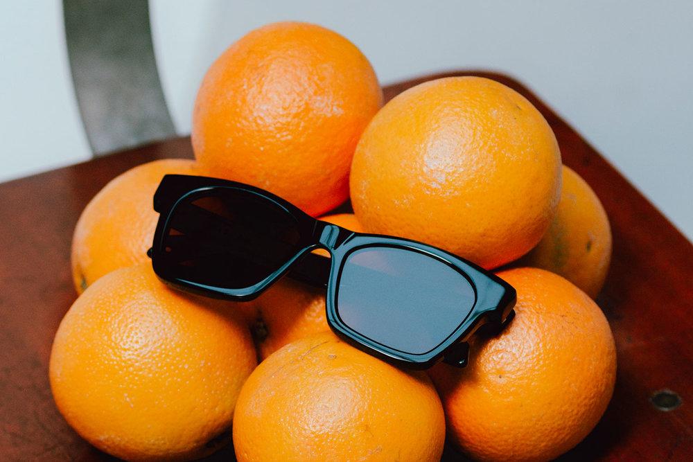 darkside eyewear draco black orange