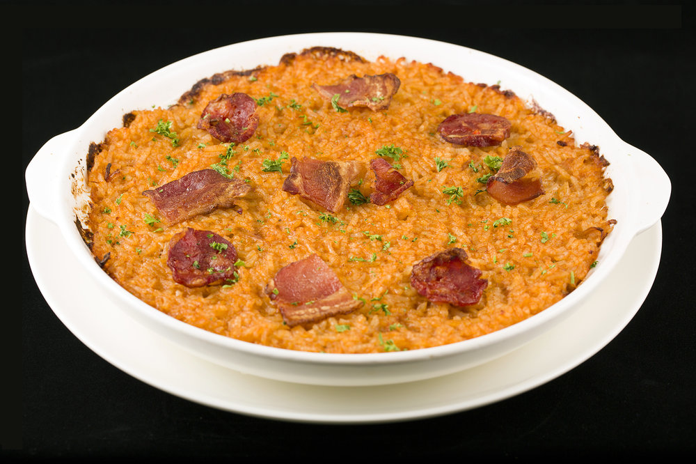 Traditional Portuguese Duck Rice. 葡式焗鴨飯.