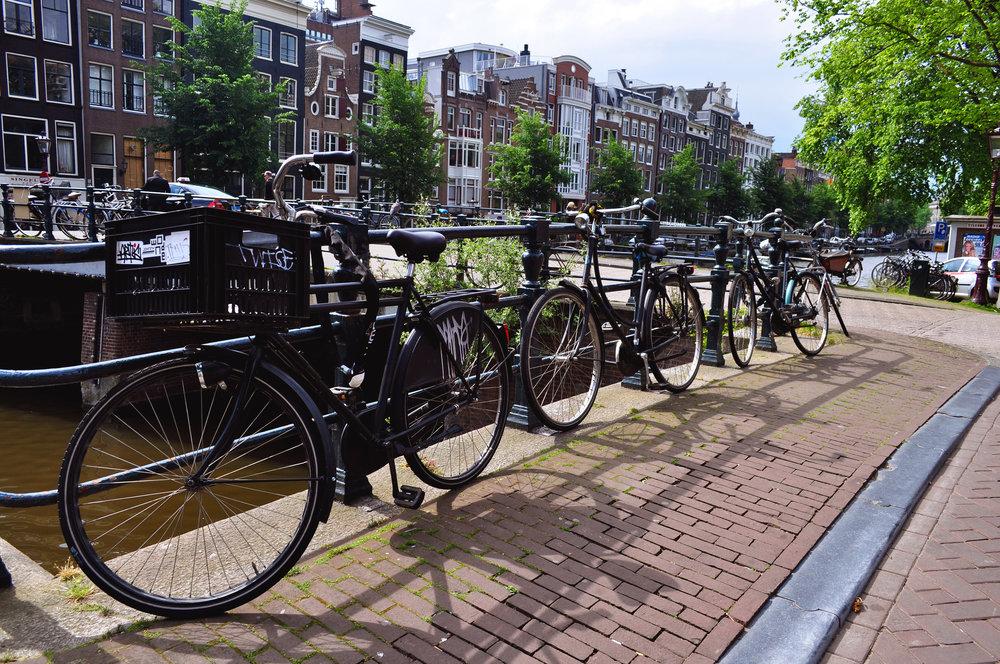 bicis Amsterdam Viajar Inspira