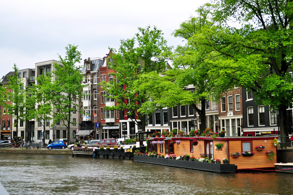 casas flotantes Amsterdam Viajar inspira