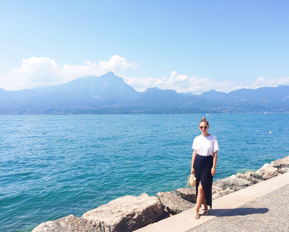Lago Di Garda Sandinmyshoes Viajar Inspira