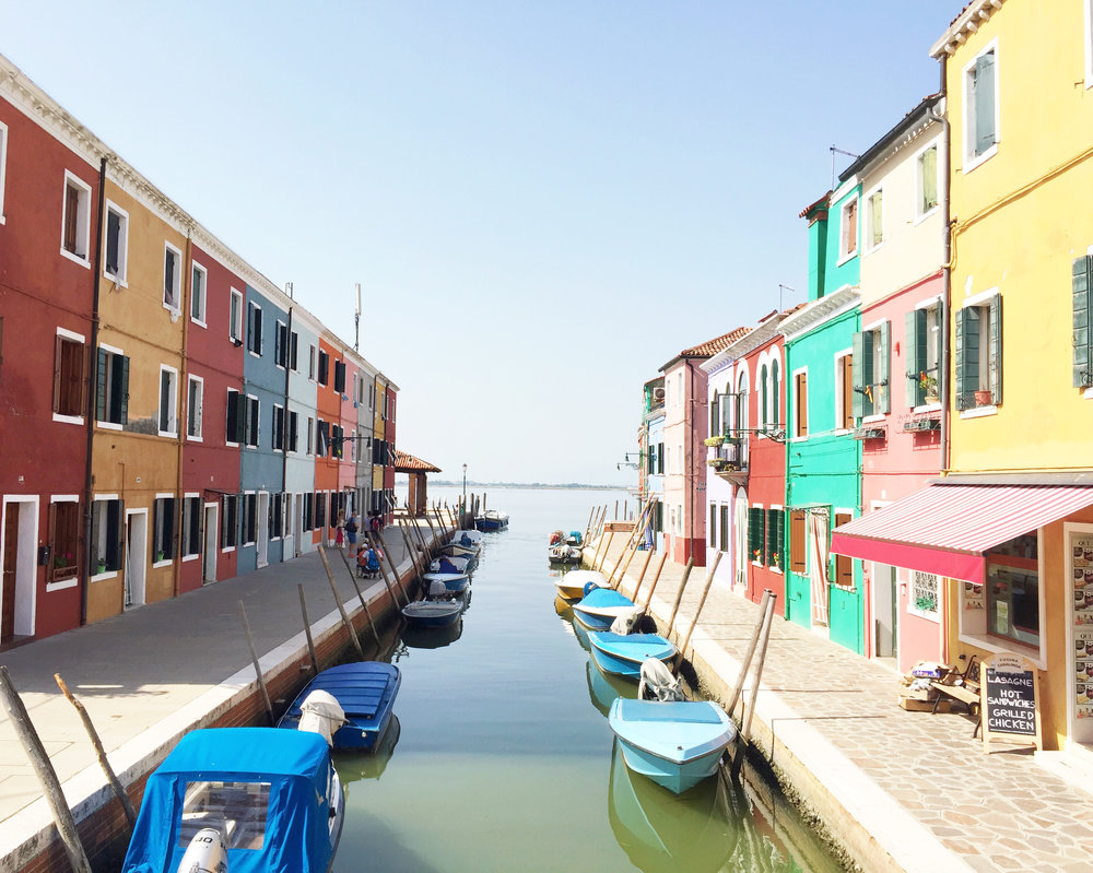 Venecia y Burano - Por Flor de Lis
