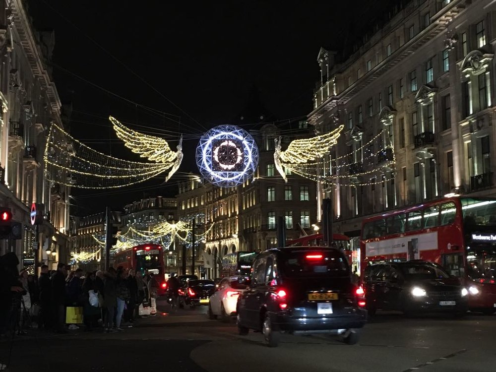 Londres navidad Viajar Inspira