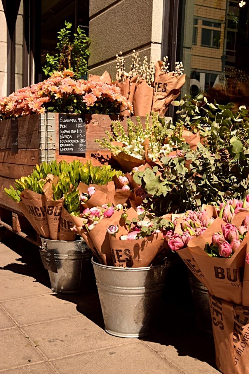 Estocolmo flowers Viajar Inspira