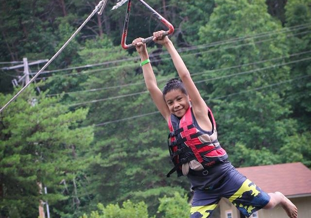Giant Rope Swing -