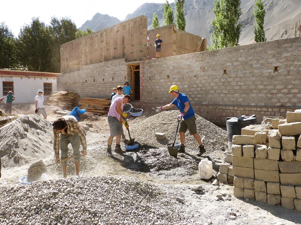 Lamdon Jamyang School, Residential Accommodation, Khalatse, Ladakh -