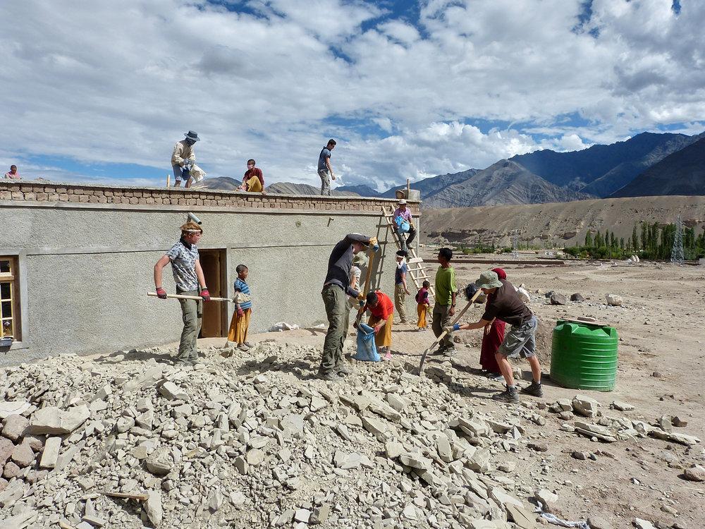 Basgo Nunnery, Ladakh -