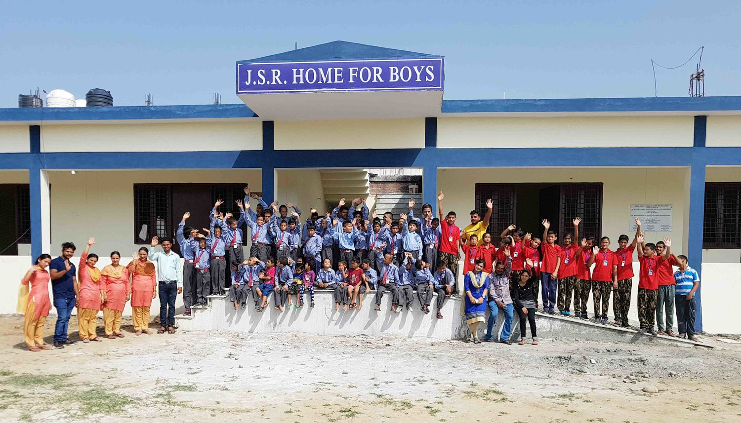 Jsr Boys Accommodation Completed Lotus Flower Trust