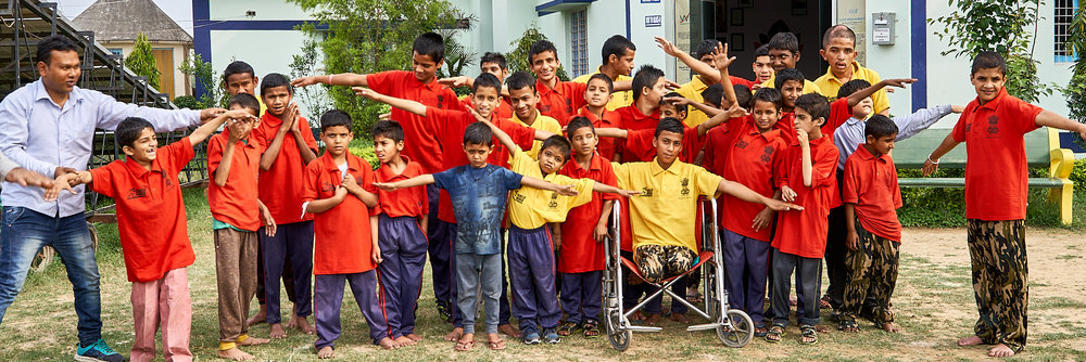 Funding Schools, Homes and Skills Centres  For destitute children, women and those with Special Needs in remote India
