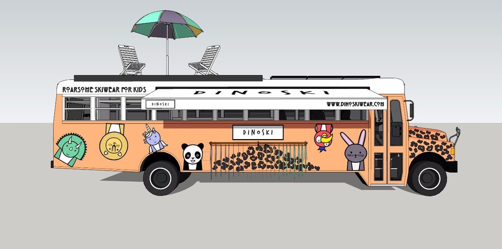 Dino Bus Design