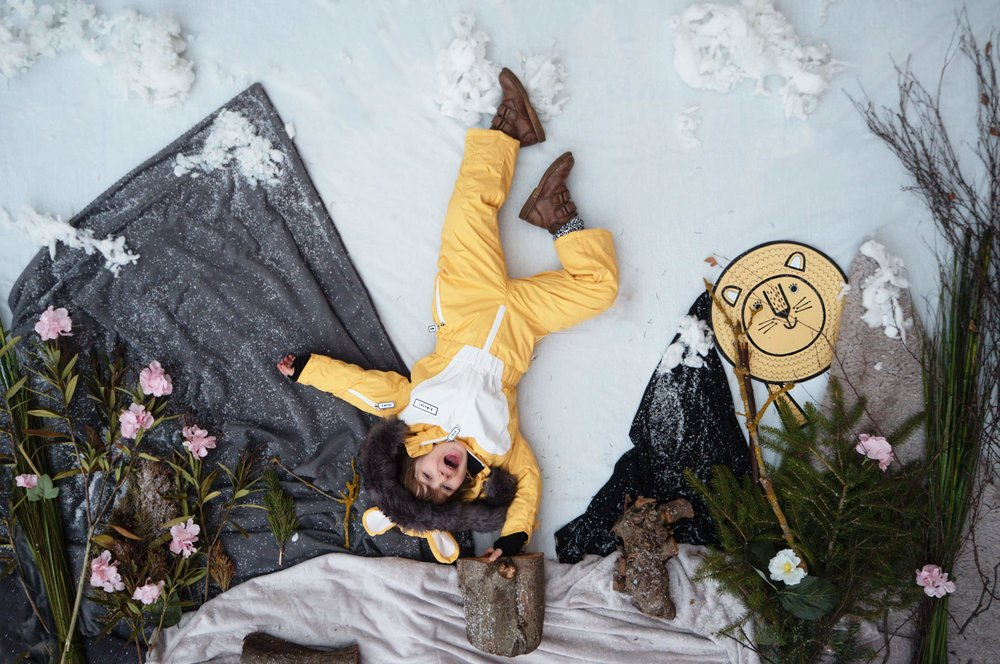 Kid's Animal Themed Skisuit