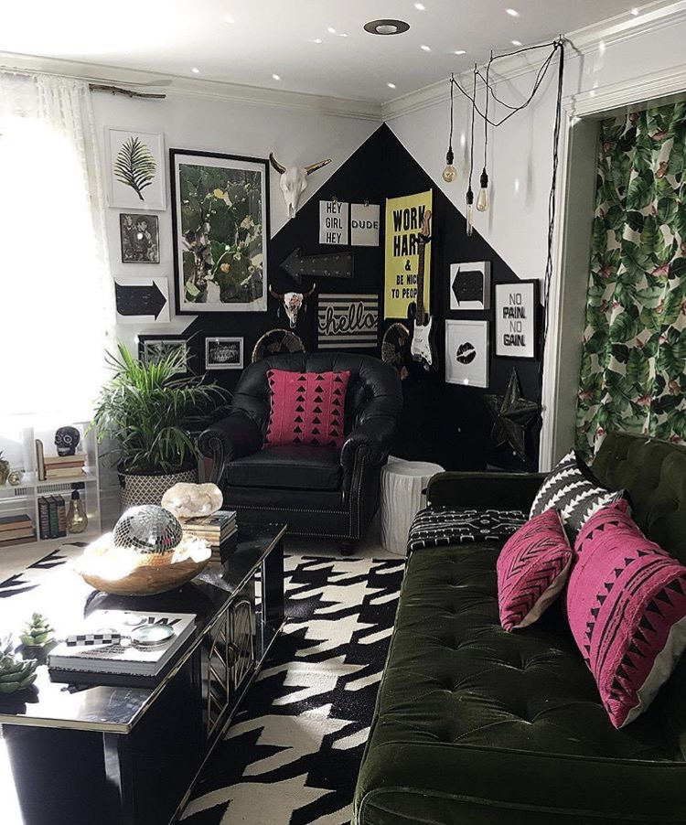Home of designer Jen @blissfully_eclectic