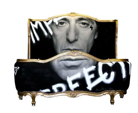 Jimmie Martintake at iconic photographs of Terry O'Neill's - like this Al Pacino bed