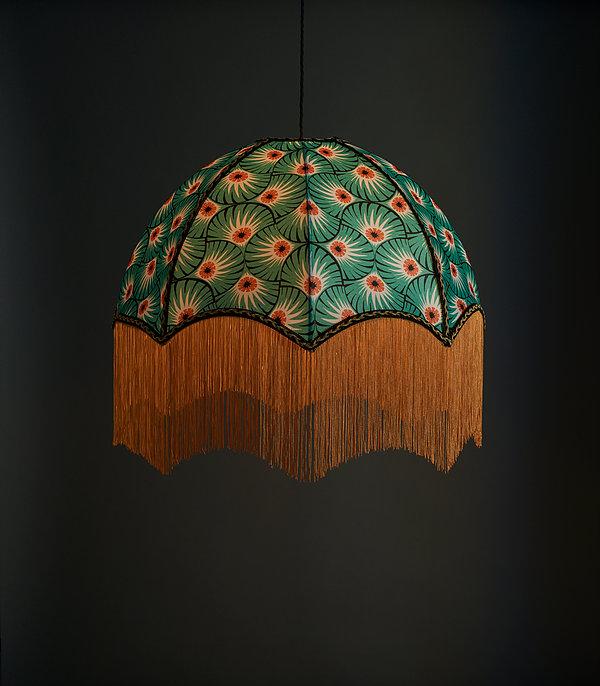 Image Credit Anna Hayman Designs- Beautiful Palmprint lampshade