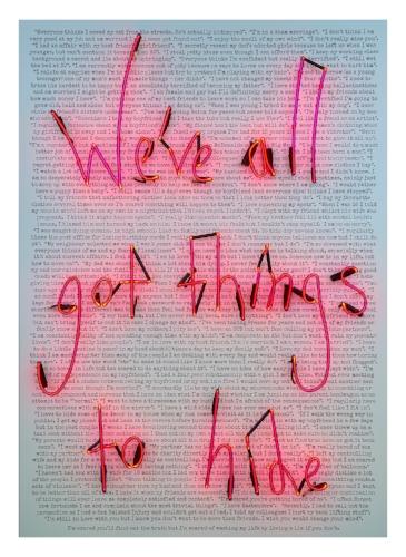 'The Closet' Art Print by Rebecca Mason