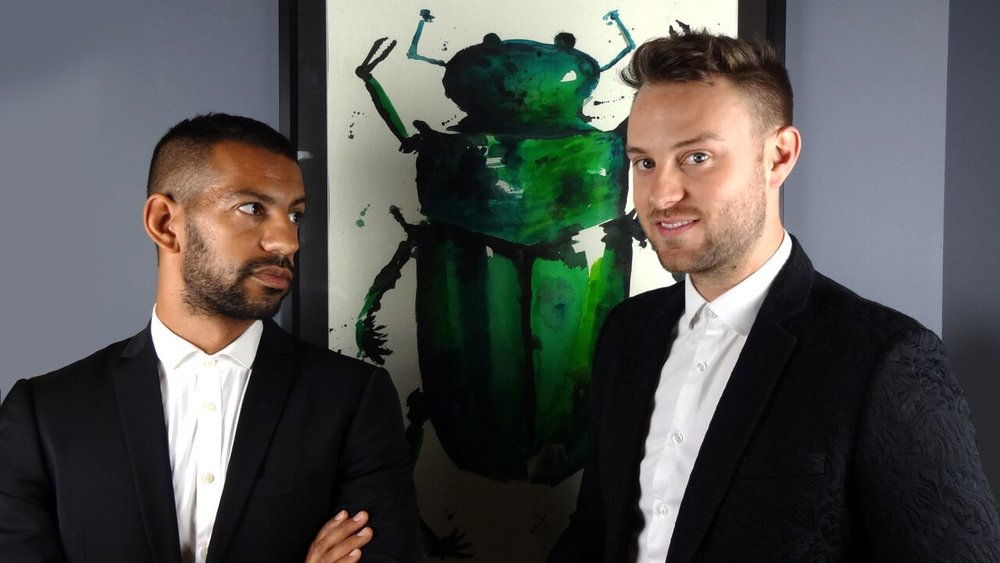 Chris and Ross - the creative duo behind The Curious Department