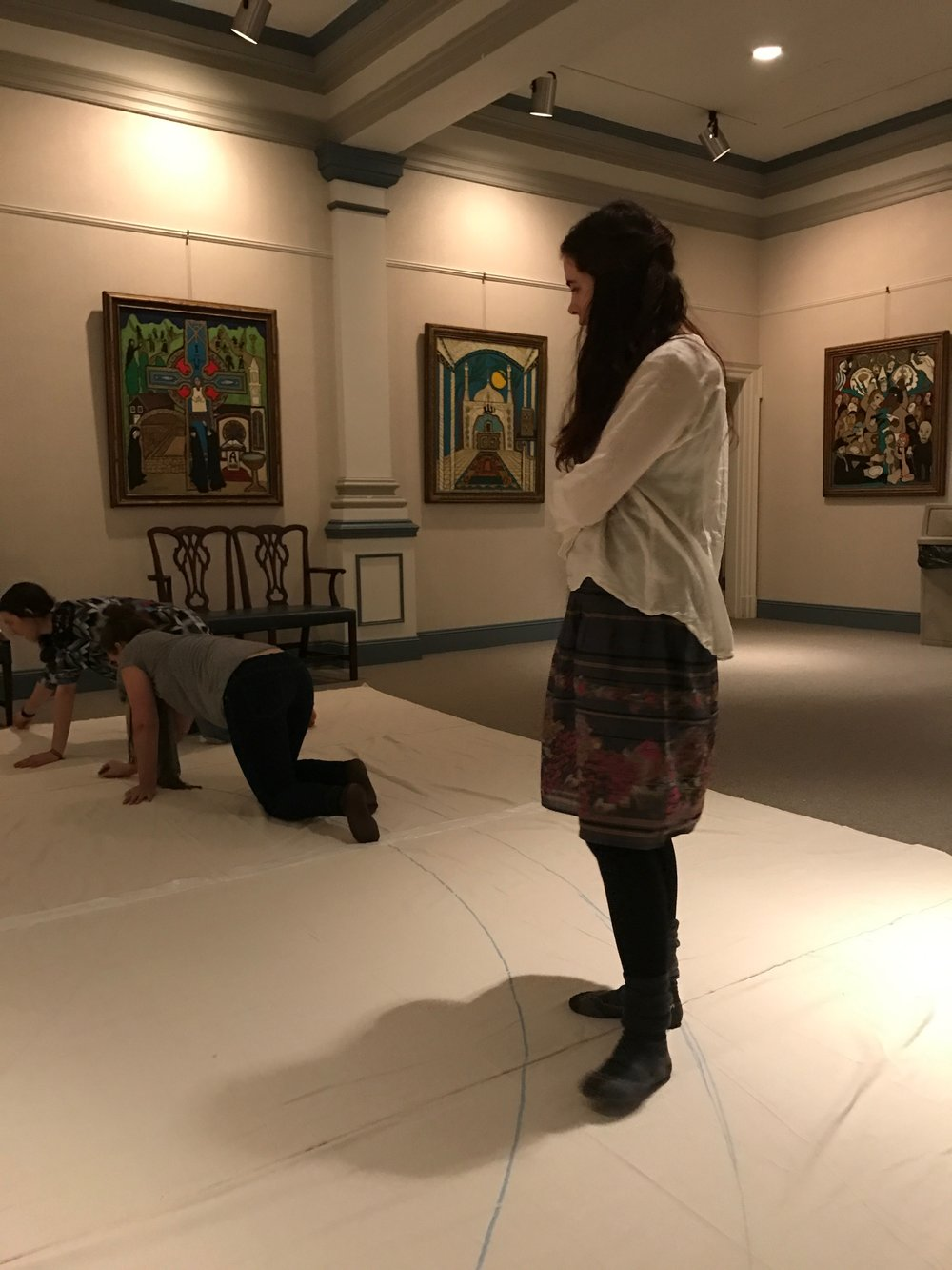 Creating a portable Labyrinth during the season of Lent