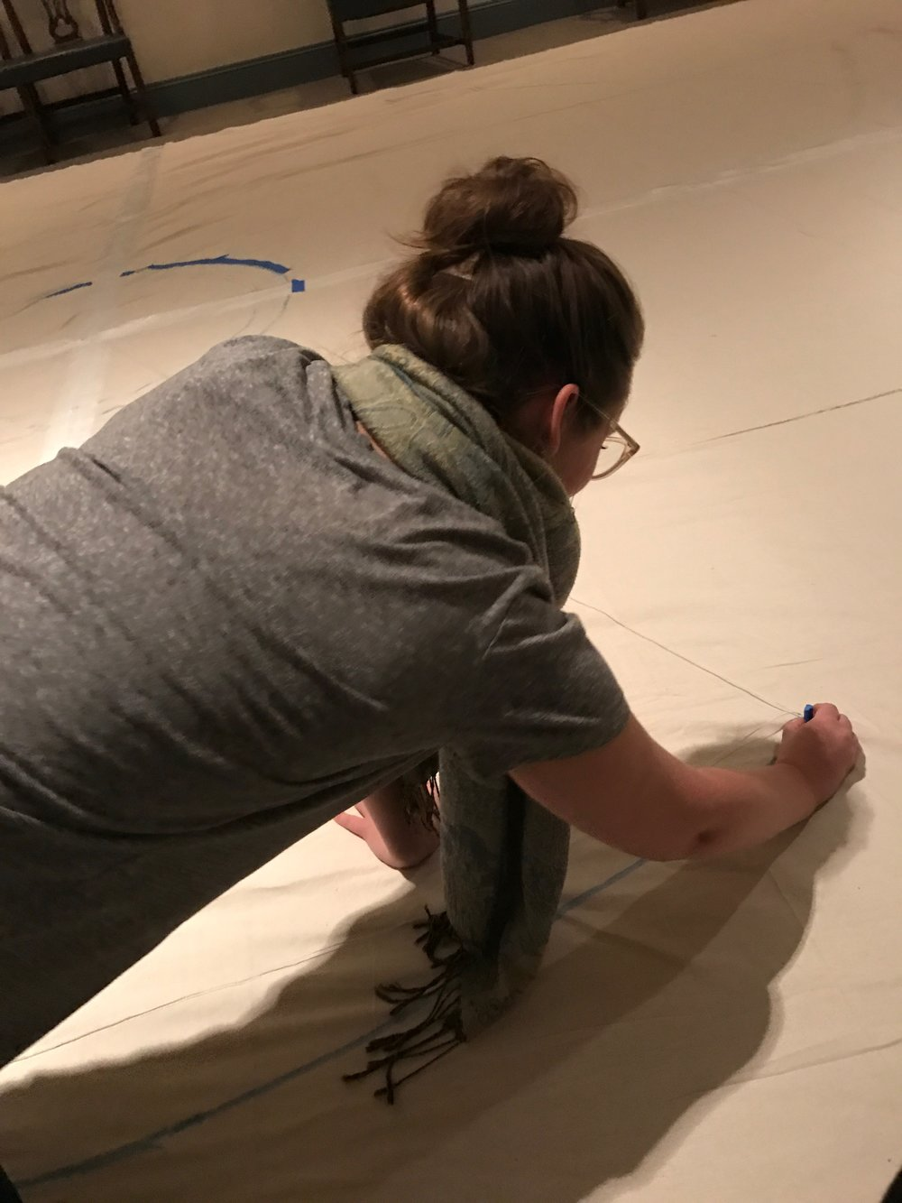 Creating a Labyrinth during the season of Lent
