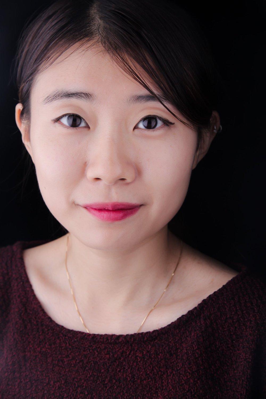 Self-portrait by Lara Xu