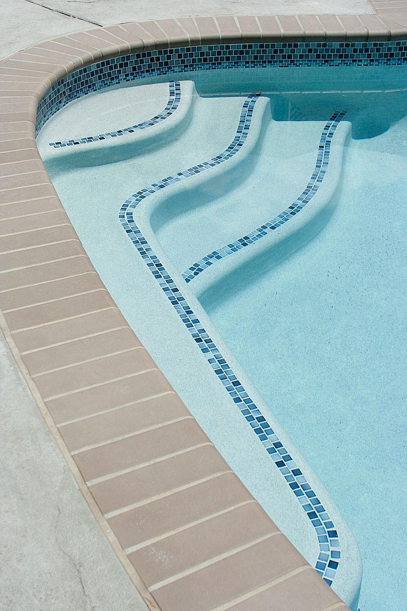 New Jersey pool steps renovation