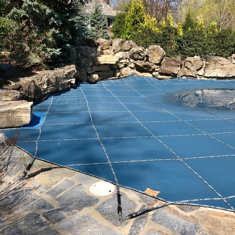 New Jersey pool cover installation