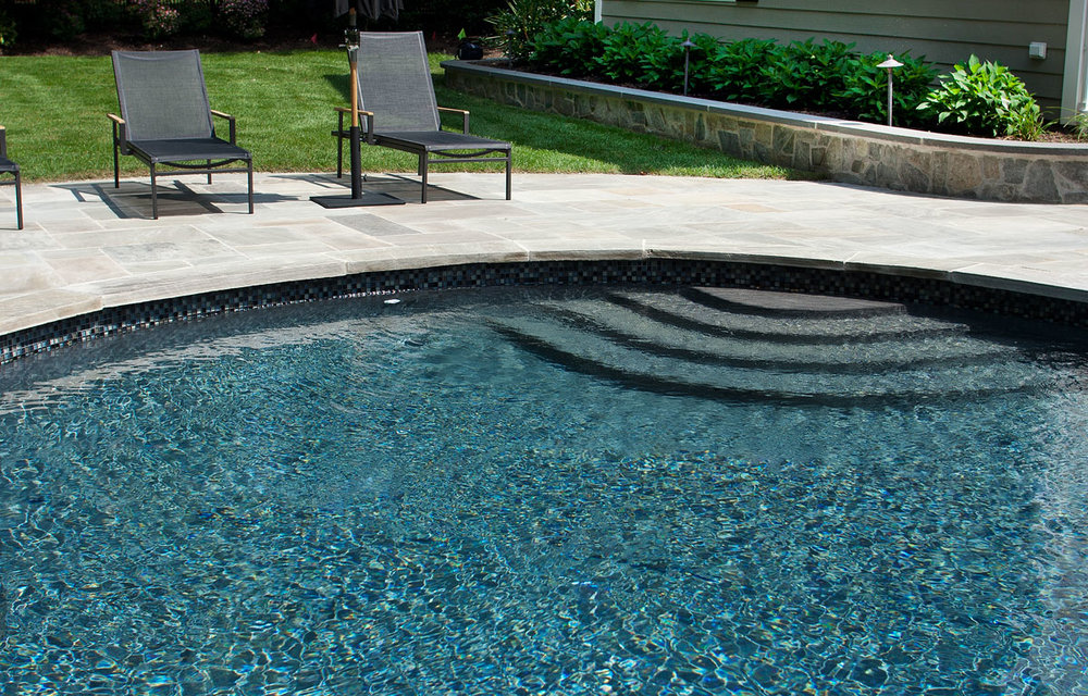 New Jersey pool renovation after